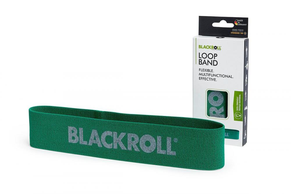 Blackroll - blackroll loop band 32cm – green – medium