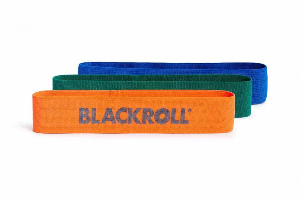 Blackroll - blackroll loop band set (orange, green, blue)